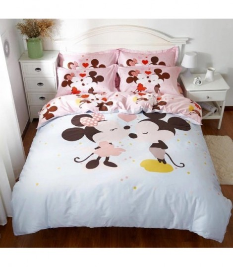 Completo letto sweet Mickey and Minnie