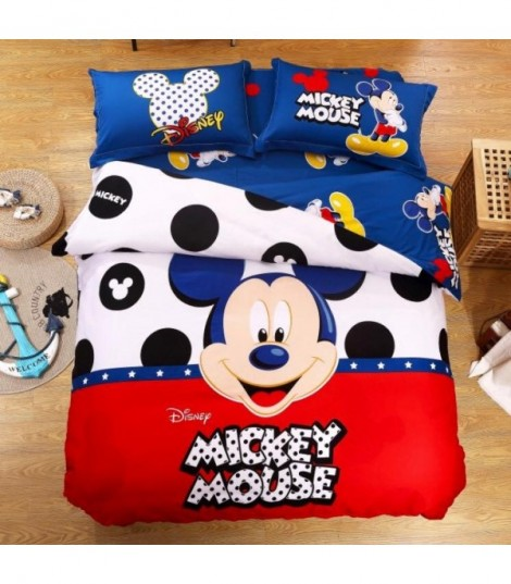 Completo letto Dot Mickey Mouse