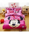 Completo letto Minnie pink dot