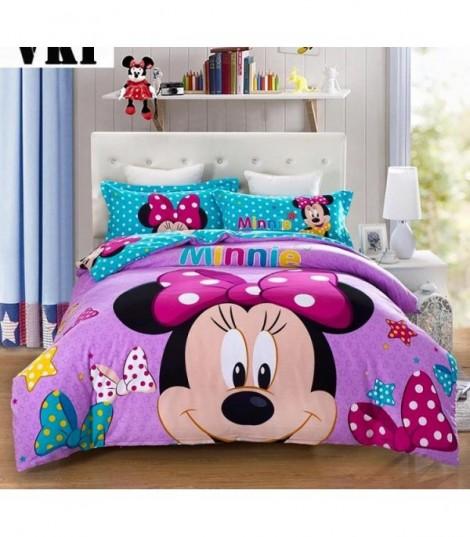 Completo letto Minnie violet