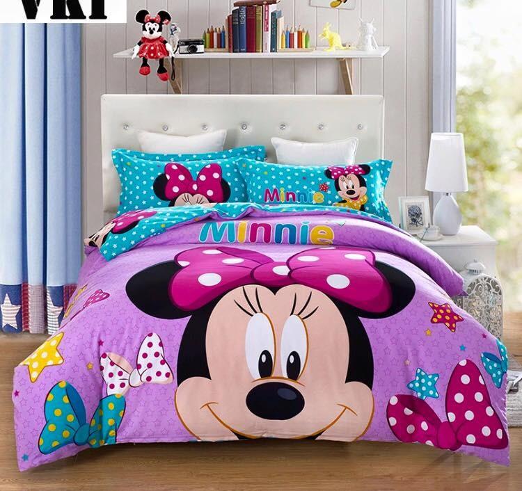 Completo letto minnie violet dream shop - Completo letto minnie e topolino ...
