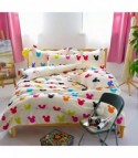 Completo letto Multicolor Mickey Head