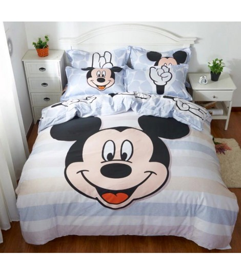 Completo letto Mickey smile hands