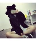 Pelliccia Bear Black