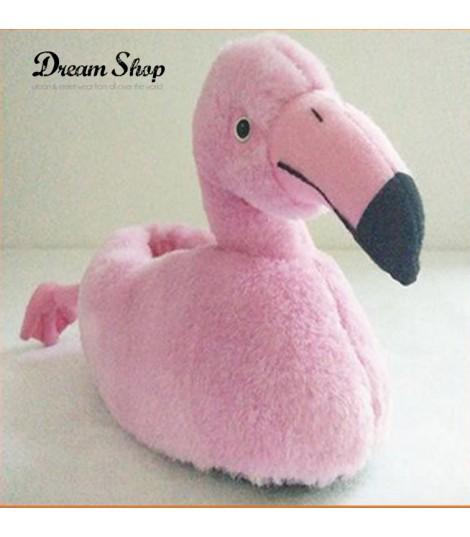 Pantofole pink flamingo