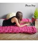 Coperta lana maxi knitt
