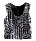 Top sequin stripe