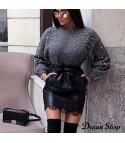Maglione perle Byanca