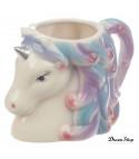 Tazza unicorn silver magic
