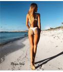 Bikini white margherita