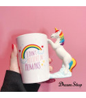 Tazza unicorn silver magic