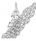Collier strass Megaly