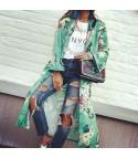 Kimono flowergreen