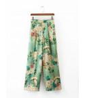 Pantalone flowergreen