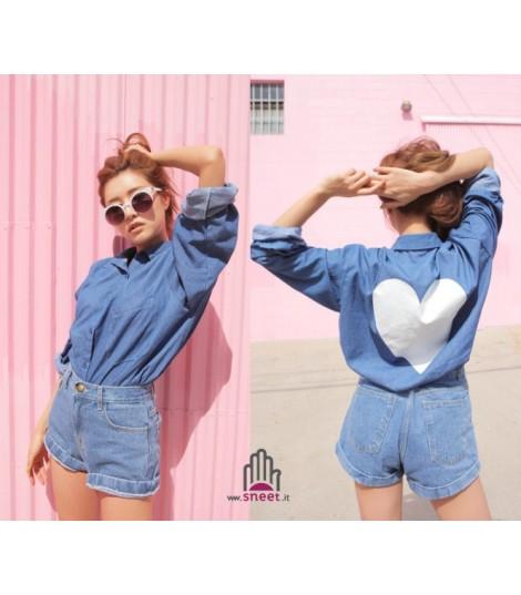 Camicia Heart