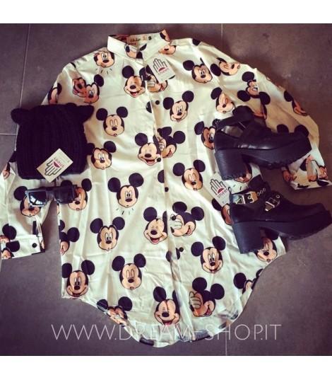 Camicia Mickey smile