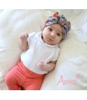 Turbante baby flower 2