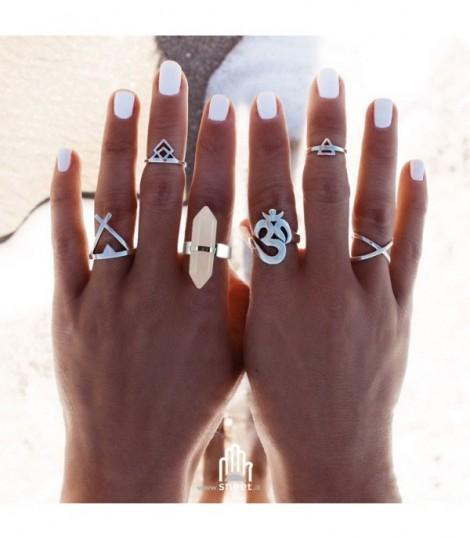 Hibryn Ring Set