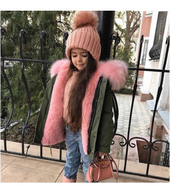 Parka baby color