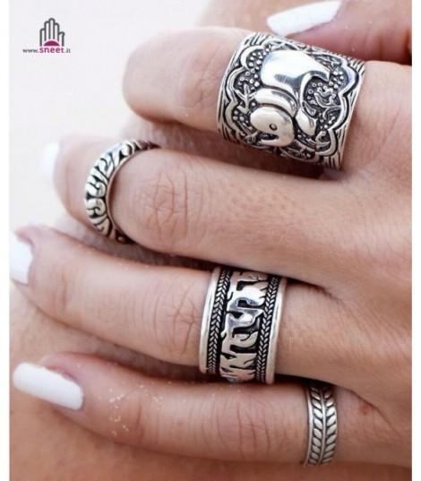 Nepal ring set