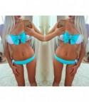 Bikini fascia fiocchetto