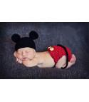 Completino neonato Mickey Mouse uncinetto