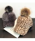 Cappellino visiera leopard