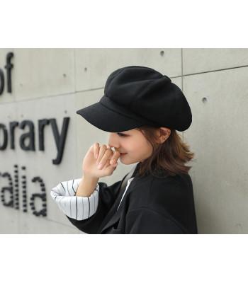 Cappello basco visiera
