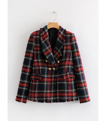 Tweed wish blazer