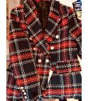 Tweed wish blazer