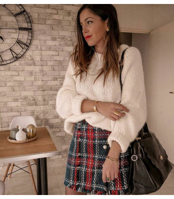 Tweed wish skirt