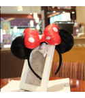 Cerchietto Minnie bow pois