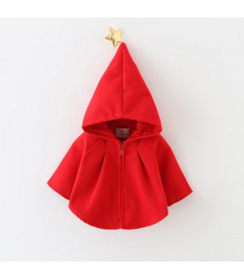 Mantellina baby red cap