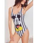 Costume intero cartoon - Mickey Mouse stripe