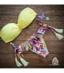 Bikini Balcony Giallo Fantasy