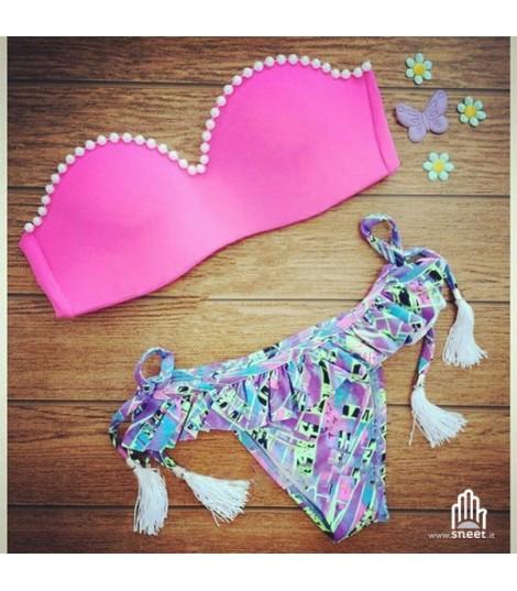 Bikini Balcony Perle Rosa