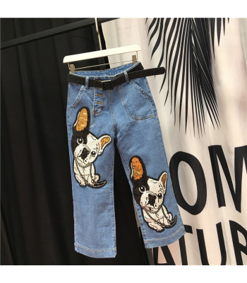 Jeans Bulldog Francese