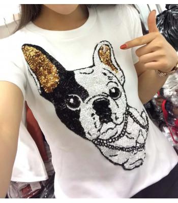 Bulldog French T-shirt
