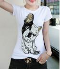 T-shirt Bulldog Francese