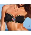 Bikini Gioiello Nero Rouges