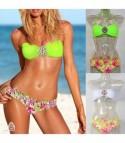 Bikini Gioiello Verde Fluo