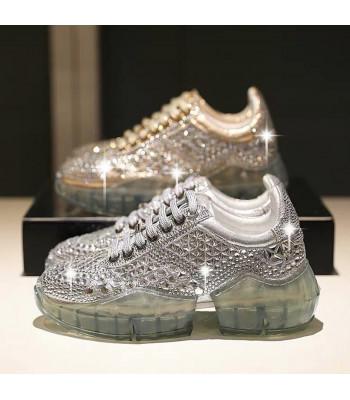 Sneakers mirror metalstrass