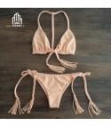 Bikini treccia pink
