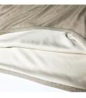 Asimmetrik lurex tubino