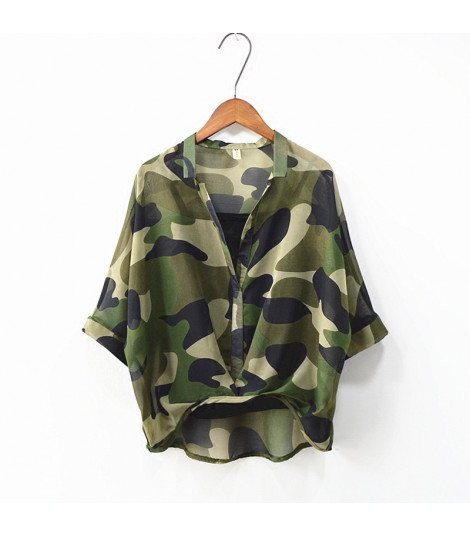 Camicia camouflage softly