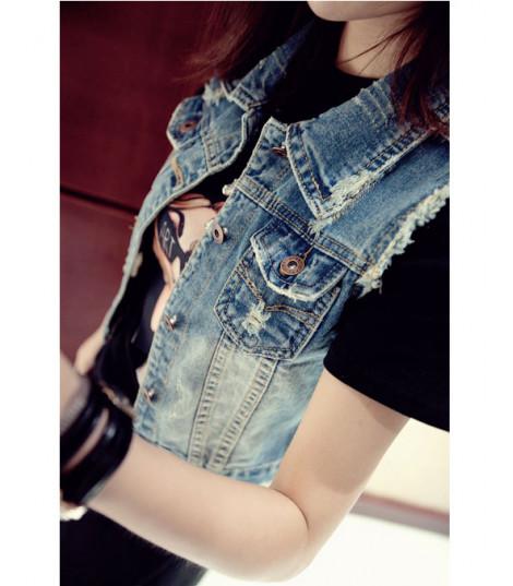 Smanicato in jeans Rina