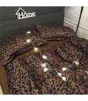Set lenzuola leopard brown