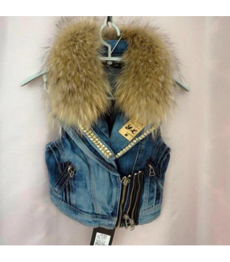 Gilet in denim Penny