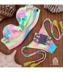 Bikini Balcony Rainbow