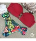 Bikini Balcony Rosso Tropical
